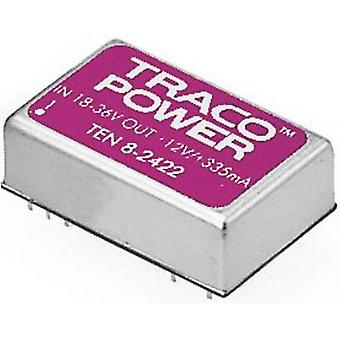 TracoPower TEN 8-4811 DC/DC converter (print) 48 Vdc 5 Vdc 1.5 A 8 W No. of outputs: 1 x