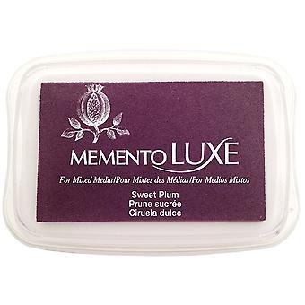 Memento Luxe Ink Pad-Sweet Plum