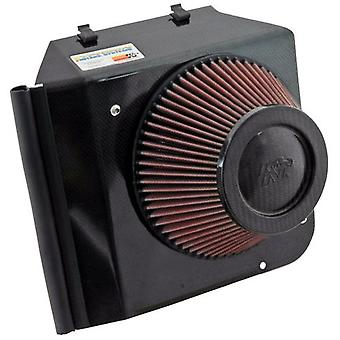 K&N 69-6545T 69 Series Typhoon Black Electronically Tuned Intake System