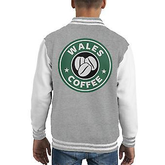 Wales Kaffee Starbucks Kid Varsity Jacket