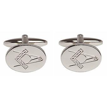 Дэвид ван Хаген масонской запонки - серебро