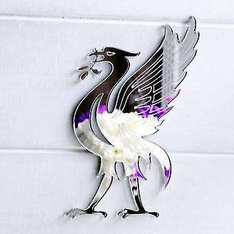 Liverpool Liverbird Engraved Acrylic Mirror