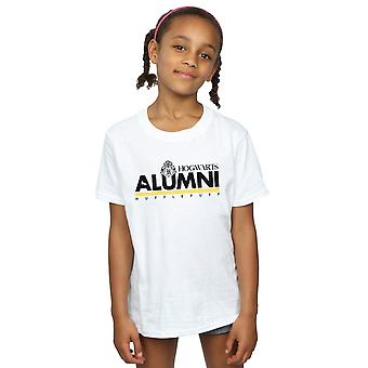 Harry Potter Girls Hogwarts Alumni Hufflepuff T-Shirt