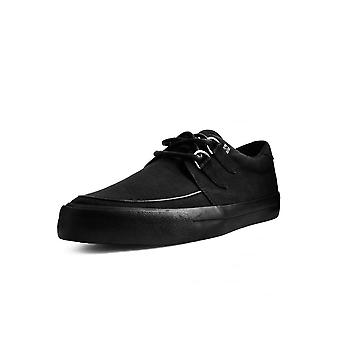 TUK Shoes Black Basic VLK D-Ring Creeper Sneaker