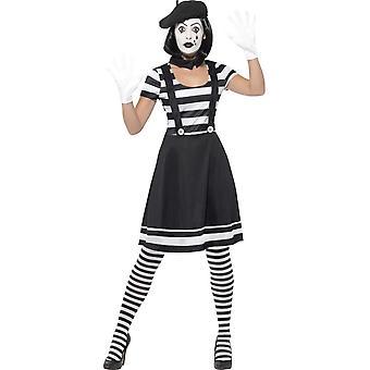 Lady Mime Artist Costume, Medium