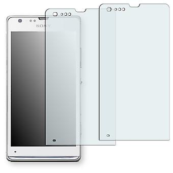 Sony Xperia SP display protector - Golebo crystal clear protection film