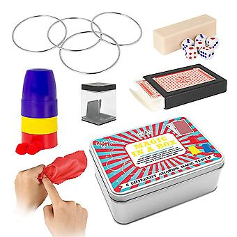 Global Gizmos Classic Games Compendium Set Including Jacks, Juggling Balls, YoYo and Playing Cards