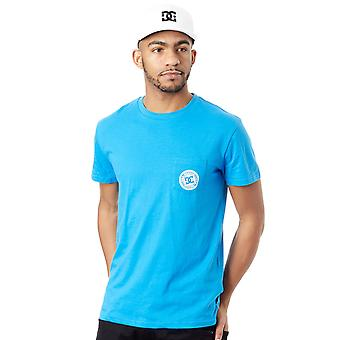 DC lysande blå Basic 3 Pocket T-Shirt