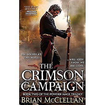 The Crimson Campaign (Powder Mage Trilogy)