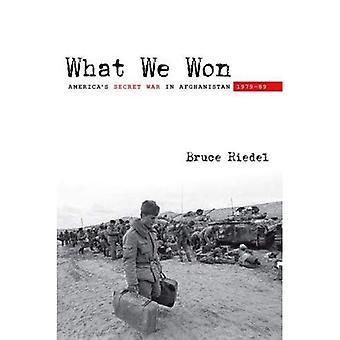 Wat We gewonnen: America's Secret War in Afghanistan, 1979 89