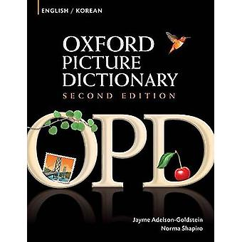 Oxford Picture Dictionary Edition EnglishKorean Neuauflage von Jayme AdelsonGoldstein & Norma Shapiro