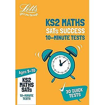 KS2 matematik SATs ålder 9-10: 10 minuters tester: 2019 tester (Letts KS2 SATs framgång) (Letts KS2 SATs framgång)