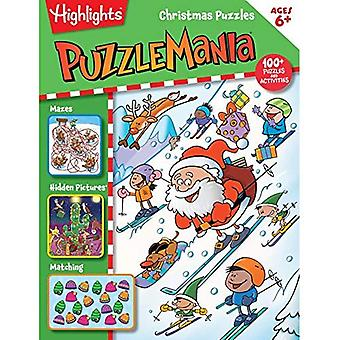 Christmas Puzzles (Highlights Puzzlemania Activity Books)