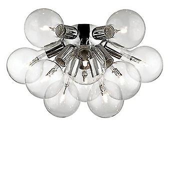 Ideal Lux - Dea Chrome Flush Light IDL074740