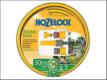 Hozelock Starter Hose Starter Set 30 Metre 12.5mm (1/2in) Diameter