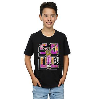 Isaac Hayes jungen Seele Pose T-Shirt