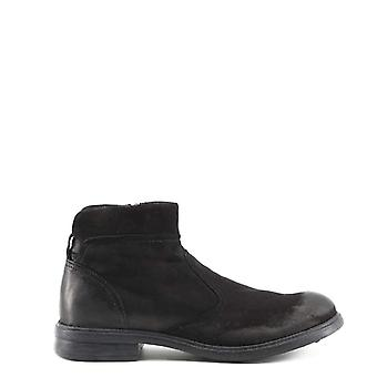Made In Italia Michele Men Black Ankle boots -- MICH163952