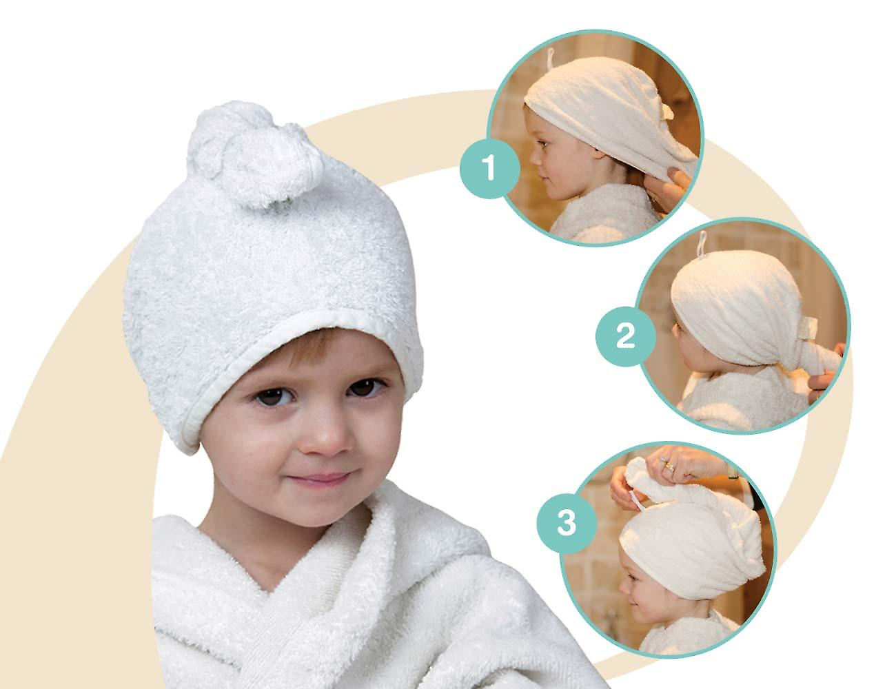 Cuddletwist Children's Hair Towel