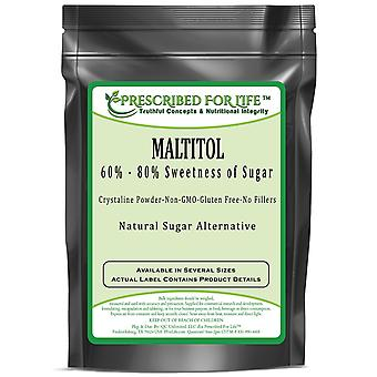 Maltitol - Low Calorie Natural Fine Granular Sugar Alternative - 60%-80% Sweetness of Sugar