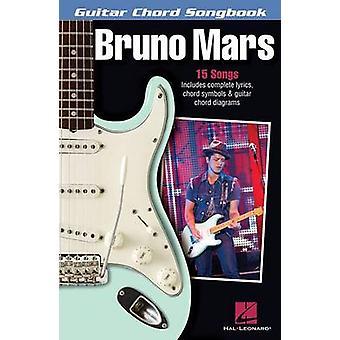 Bruno Mars - Guitar Chord Songbook - 9781480372276 Book