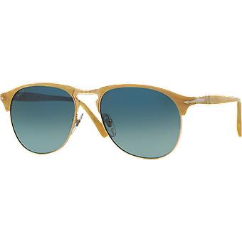 Persol 8649S Medium Blue polarized gradient Light Horn