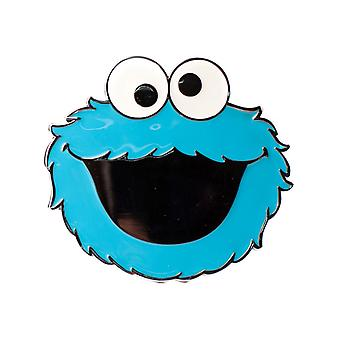 Sesame Street Blue Cookie Monster 2D Belt Buckle