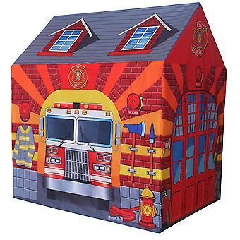 Charles Bentley Fire Station Spielen Zelt Feuerwehrmann Wendy House Playhouse Den
