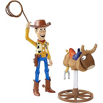 Disney Toy Story Bull Riding Woody Figure