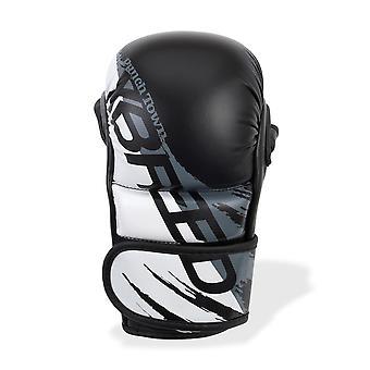 PunchTown xBreed KR Hybrid Handschuhe schwarz/weiß