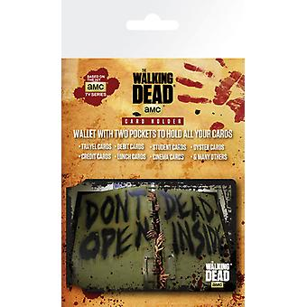 The Walking Dead Dead Inside Travel Pass / Oyster Card Holder