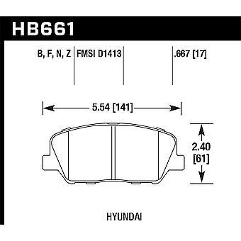 Hawk Performance HB661Z. 667 PC