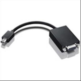Lenovo 0a36536 mini display cable adapter port 20pin male/vga female color black