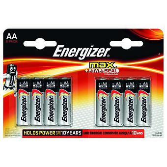 Energizer Max Power Seal Lr6 (Aa) (8 Pcs)