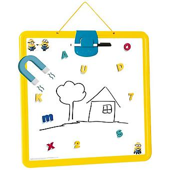 Smoby Minions Display Blackboard (Babies and Children , Toys , Educative And Creative)
