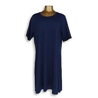 Isaac Mizrahi Live! Dress Essentials Pima Blue A351507