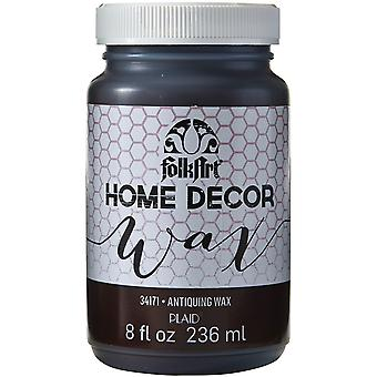 Folkart Home Decor Wax Sealer 8Oz Antiquing Hdwax 34171