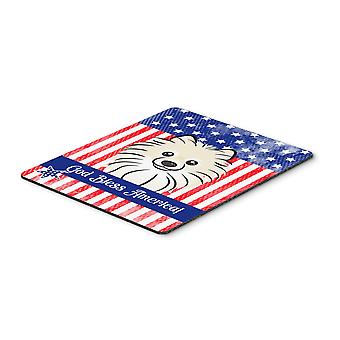 Pomeranian Mouse Pad, Hot Pad or Trivet BB2137MP