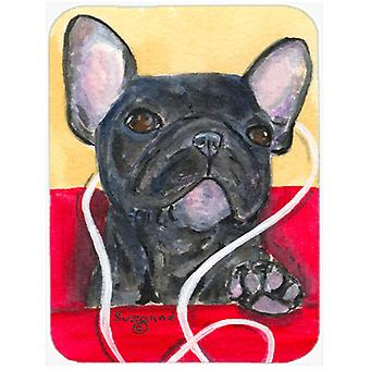 French Bulldog Glass Cutting Board Large