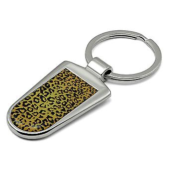 Leopard Print nøkkelring