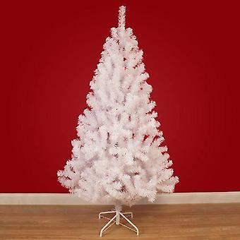 Árbol de Navidad de 8ft blanco pinos árbol Artificial con soporte de Metal