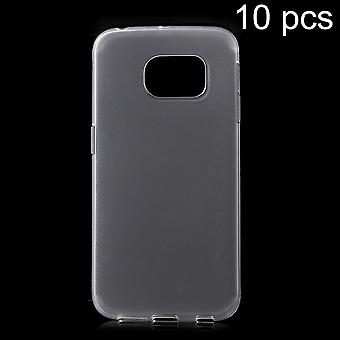 Mate in TPU rubber cover for Samsung Galaxy S6 Edge (transparent)