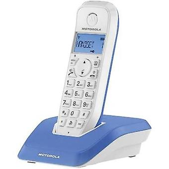 Cordless analogue Motorola STARTAC S1201 BLAU Blue, White