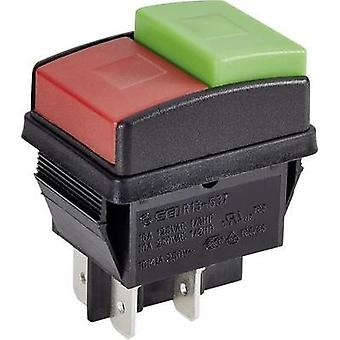 Pushbutton 250 Vac 10 A 2 x Off/On SCI R13-537A B/
