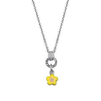 Scout children necklace chain Silver Flower yellow girls girls 261102200