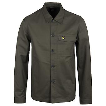 Lyle & Scott Dark Sage Shirt Jacket