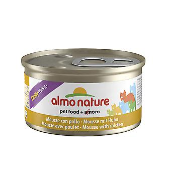 Almo Nature Daily Menu Cat Mousse With Chicken 85g (Pack of 24)