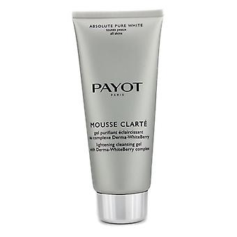 Payot Absolute zuivere witte Mousse Clarte bliksem reinigende Gel 200ml / 6,7 oz