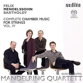 Mendelssohn - String Chamber Music Vol 4 [SACD] USA import