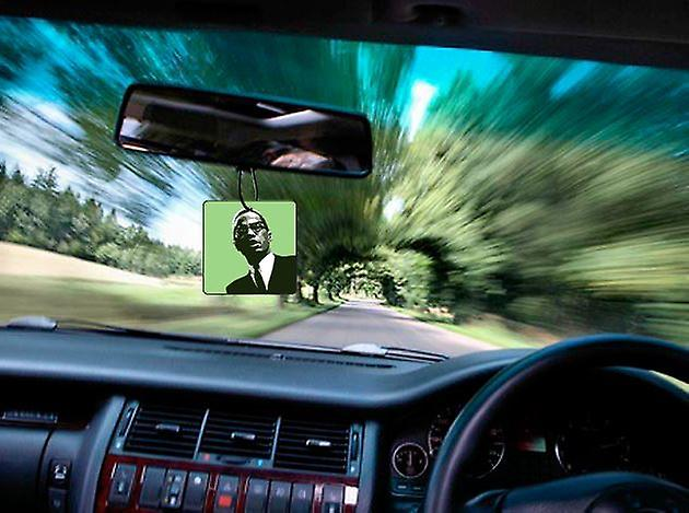 Malcolm X Car Air Freshener