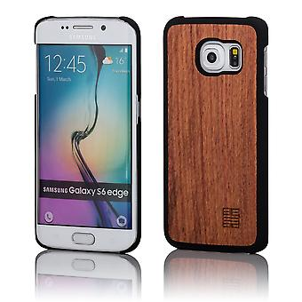 32 madera nuevo caso para Samsung Galaxy S6 (SM-G925) - cereza